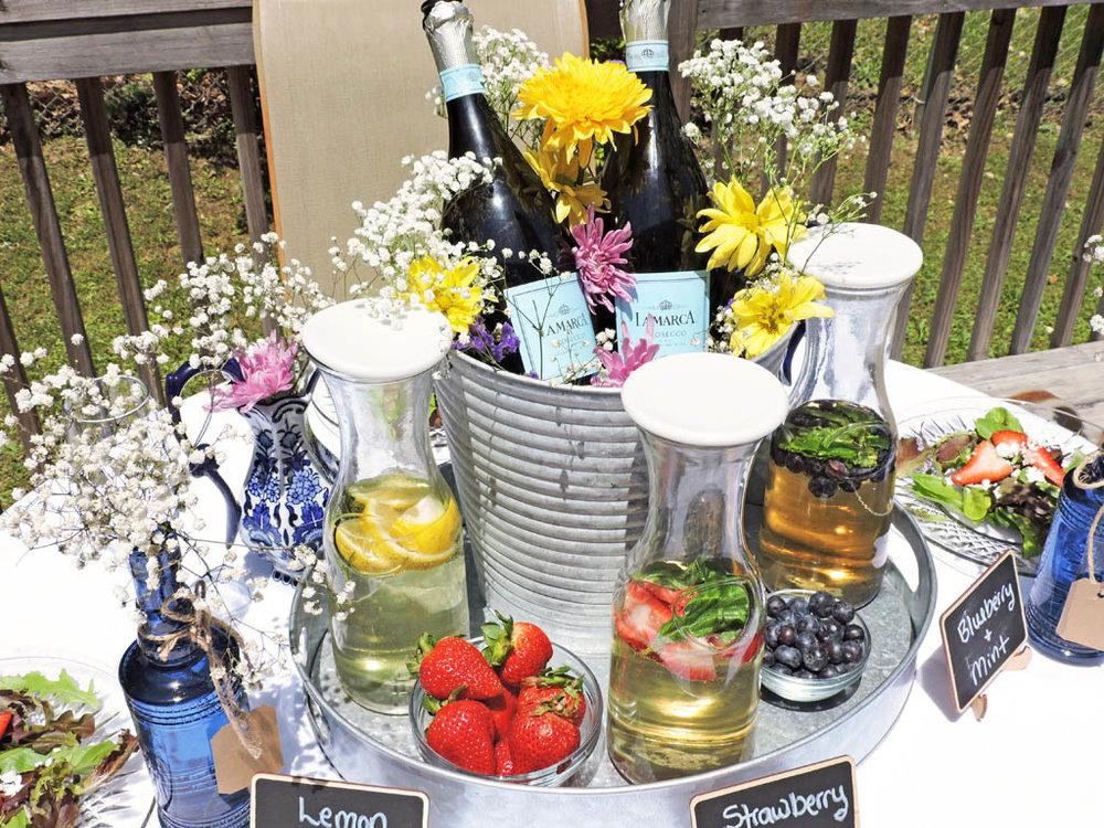 DIY Cocktail station på festen