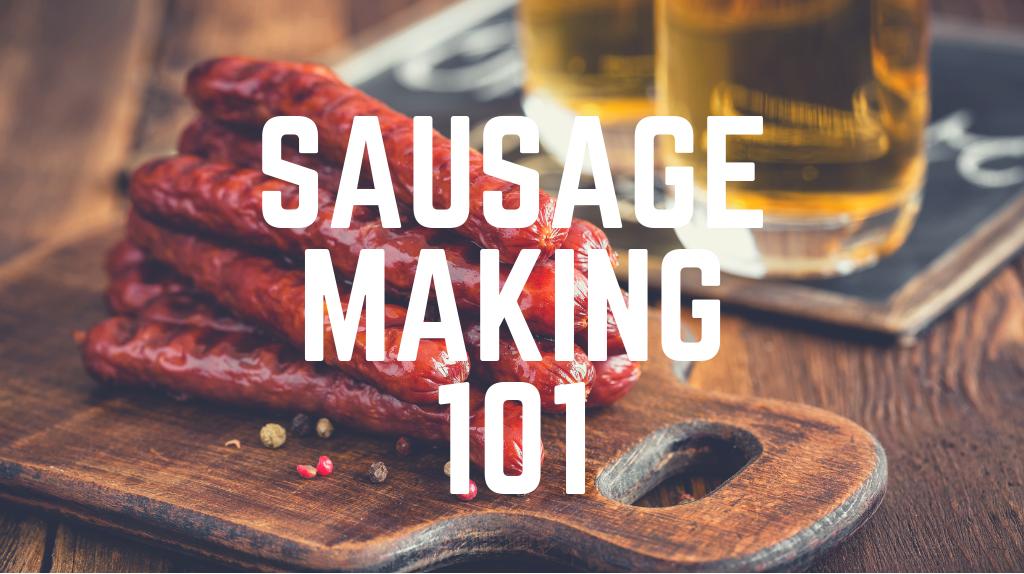 Sausage Making & Beer Paring