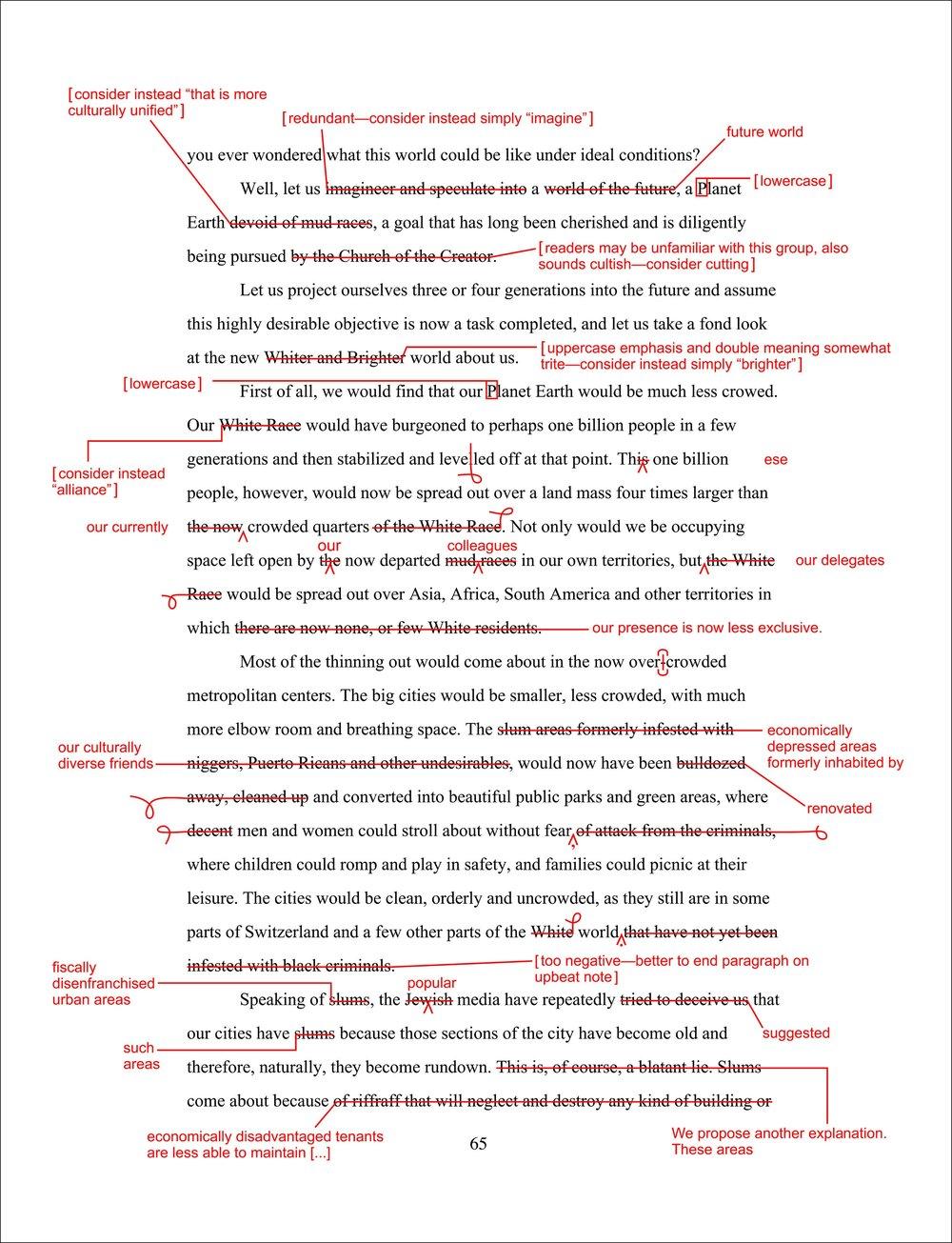 Whitewash Wordswap : Charles Gute
