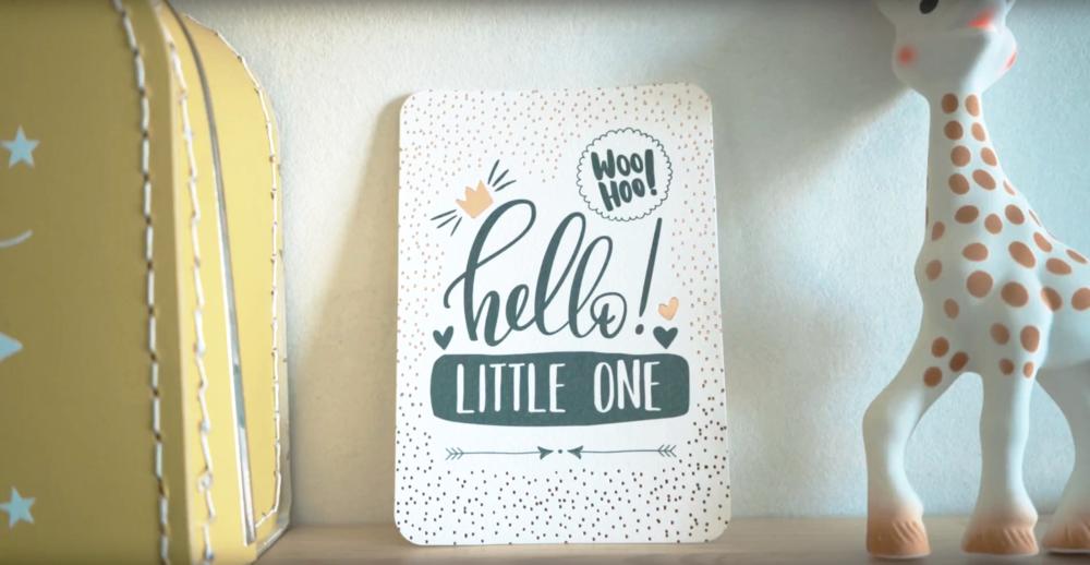 Geboortevideo Hello little one