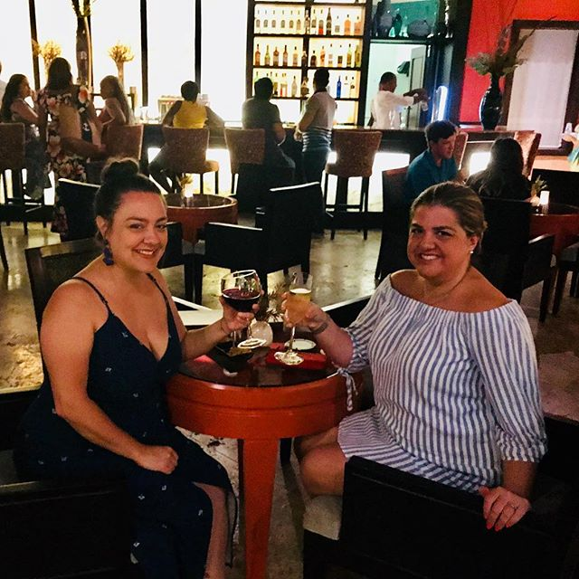 It was a fast but fantastic girls weekend with my obsesh @alphaximonica_  From trenzas to queso frito, I loved running on island time with you. TPC Fo-Evah. . . . . . #dominicanrepublic #vacation #girlsweekend #islandtime #weekendvibes #weekendgoals #cheers #besties❤️ #outofoffice #miamifoodie #miamiwriter #writerslife #freelancewriter #sundayfunday #travel #puntacana #photooftheday