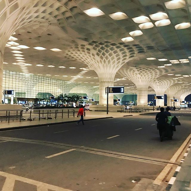 Amazing Mumbai airport. Excited to work in India!!! #BATB #beasties