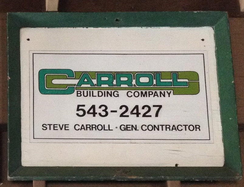 Carroll Building Company, 1978