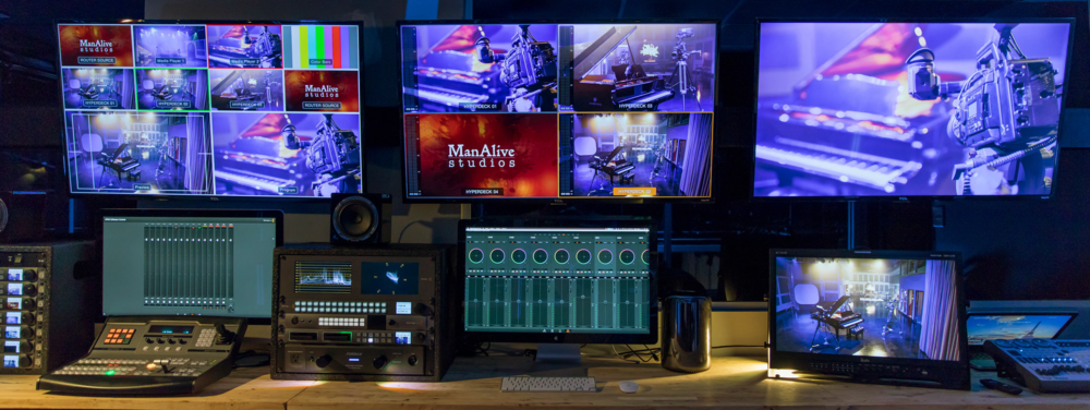 Fully Equipped For Live Cutting, Live Audio, And Live Video Production