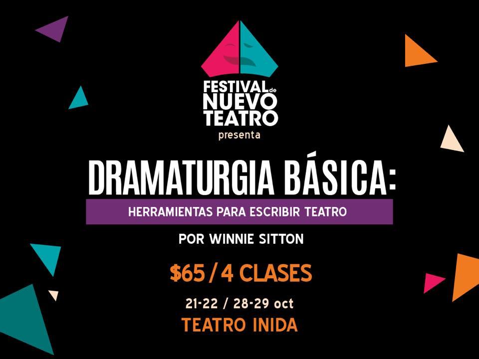 Dramaturgia Basica Festival Nuevo Teatro