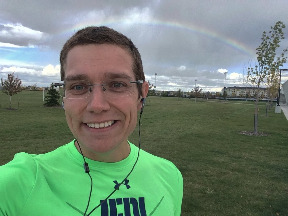 - Not every workout will have a rainbow at the end....