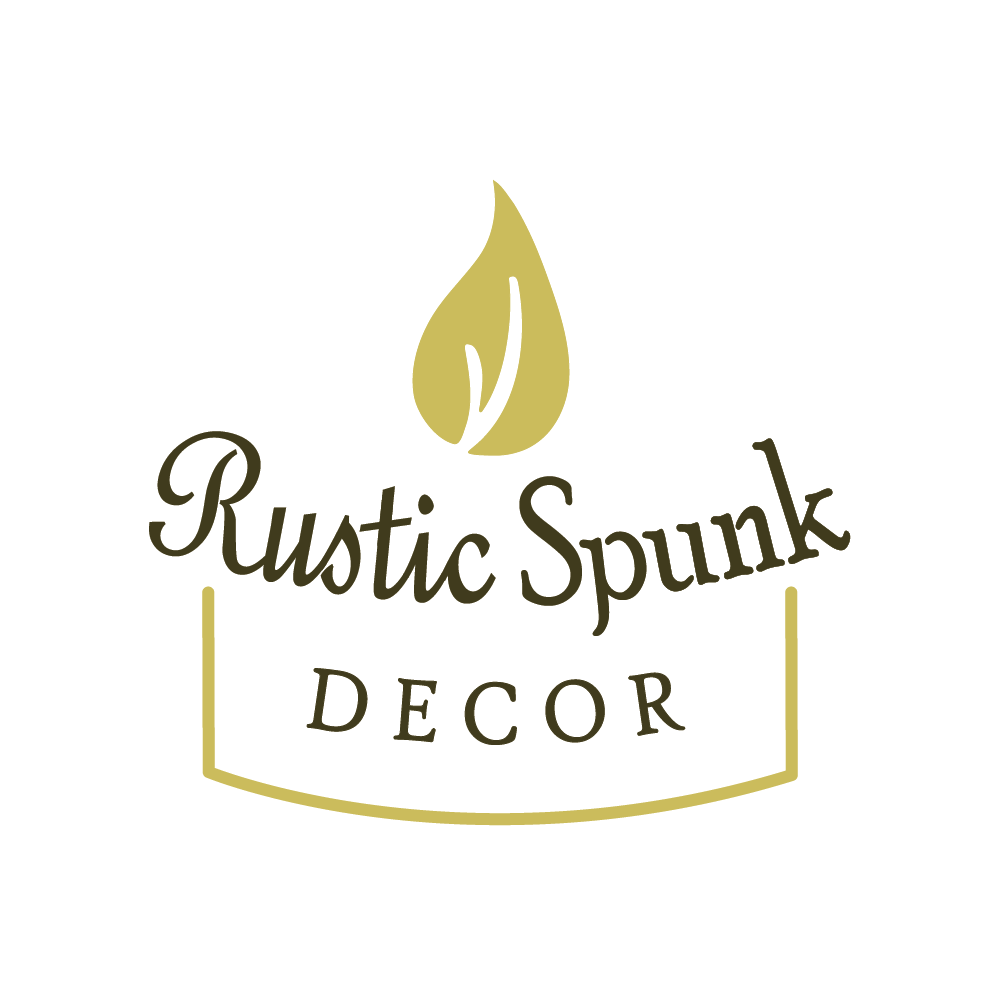logo design suite for rustic spunk decor