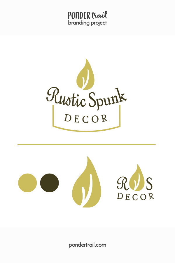 Branding Project: Logo Suite for Rustic Spunk Decor