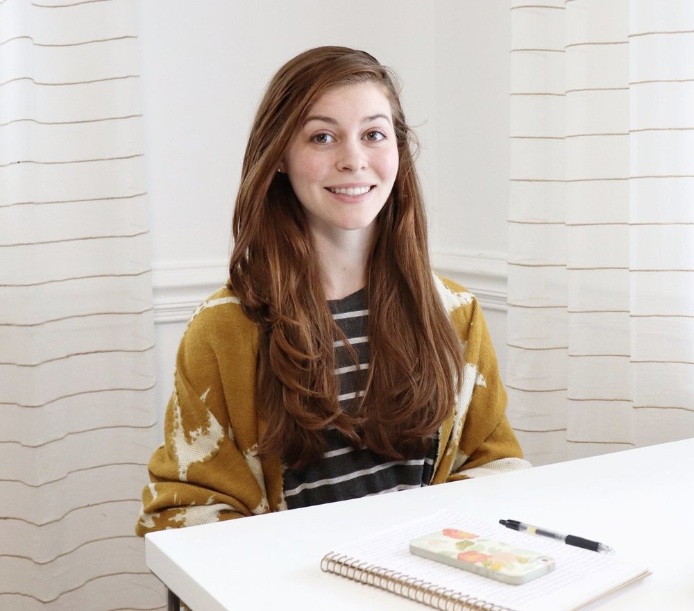 about sarah the designer, blogger, and creative entrepreneur behind ponder trail