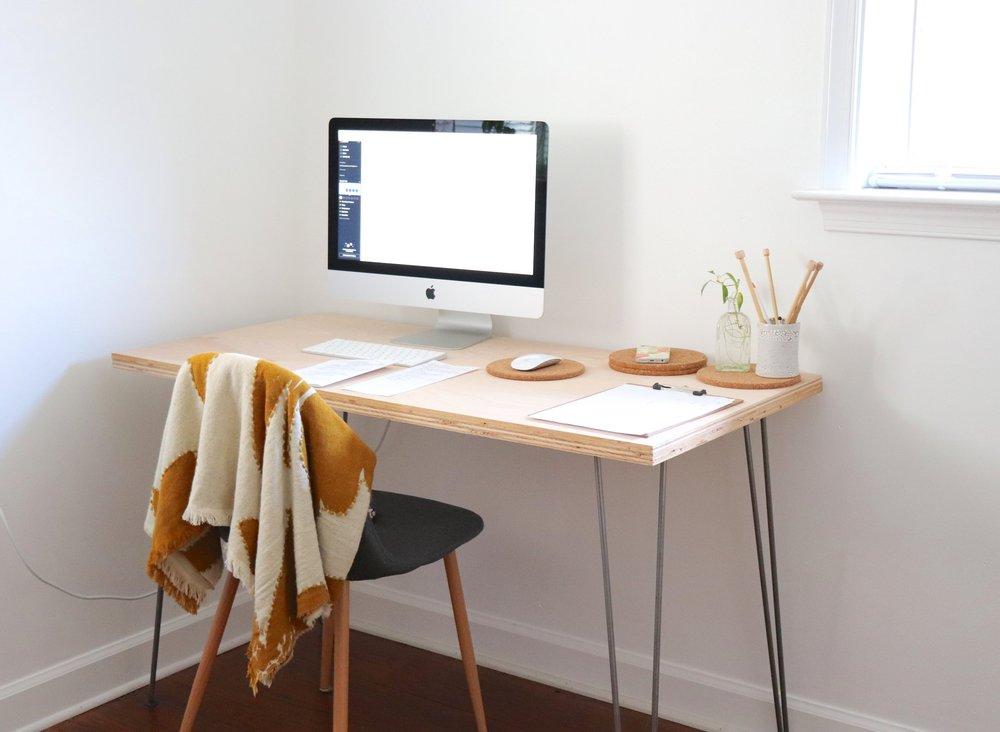 productive office work space creative entrepreneur