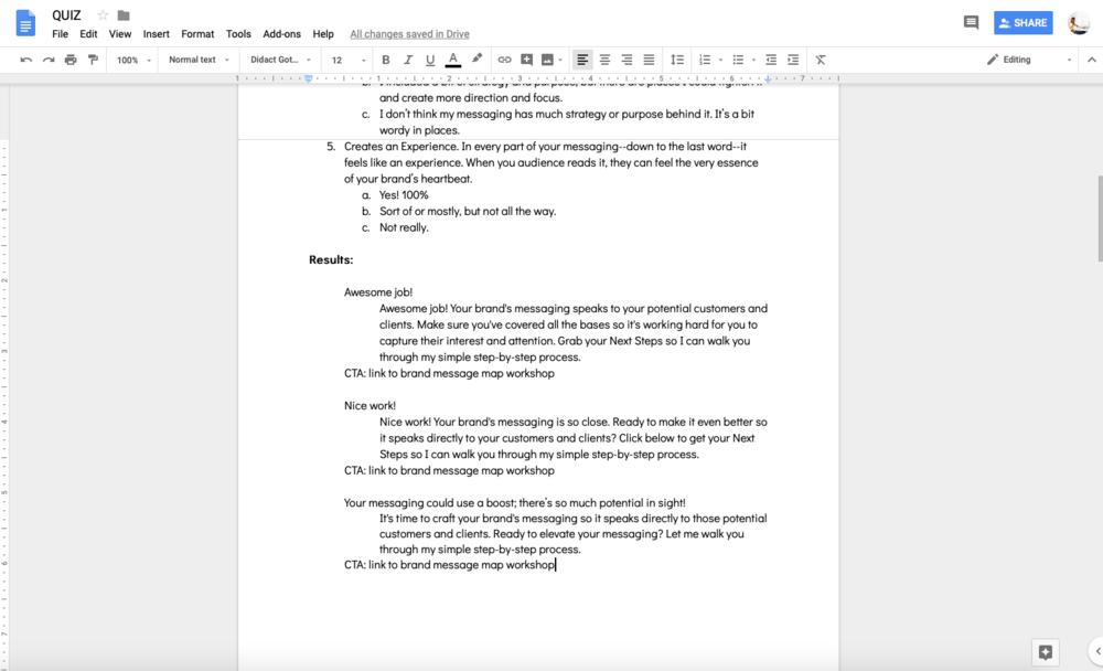 Build Quiz Grow Email List