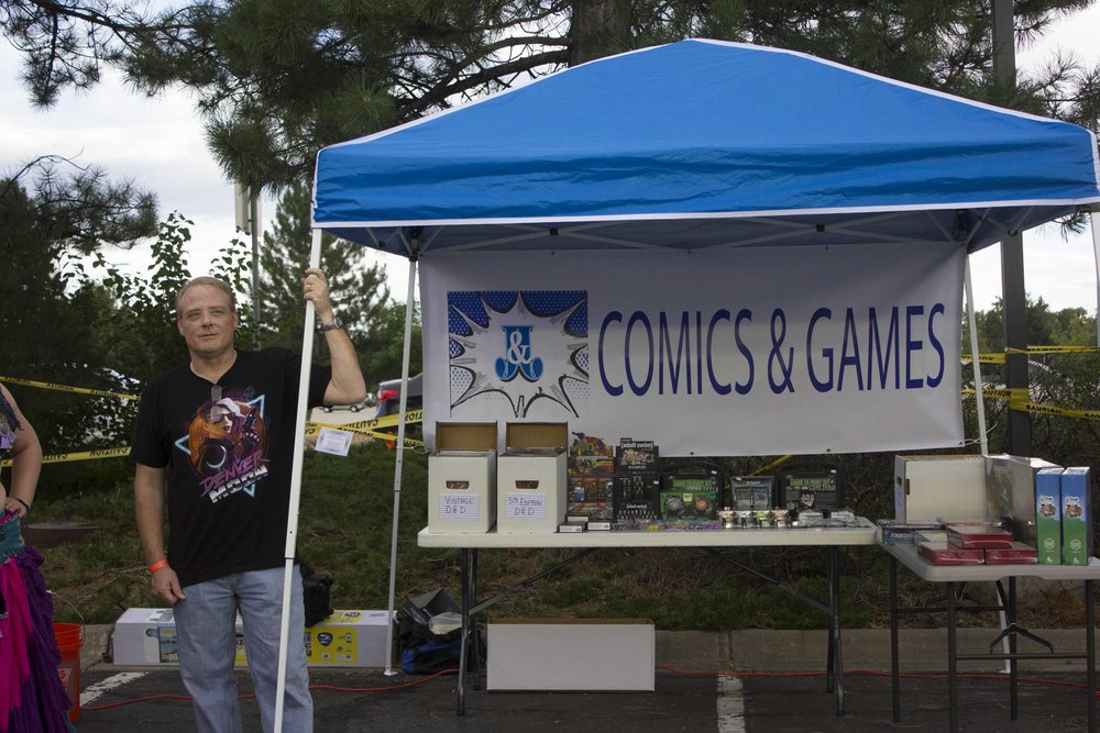 JNJ Comic Books and Games