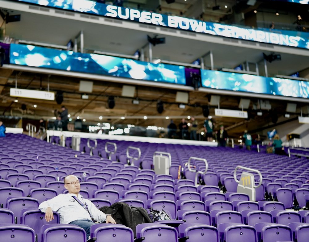 Dr. Shin after Super Bowl 52 ended