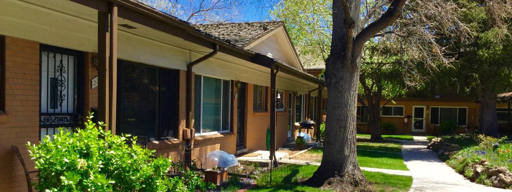 Ranch Style Condos in Applewood just East of Golden, Colorado