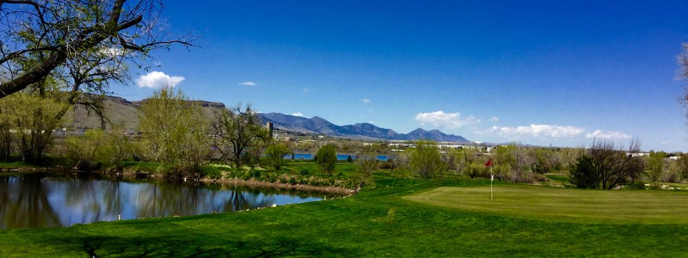 Applewood Golf Course is just East of Downtown Golden, Colorado