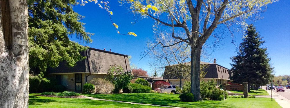 Applewood Park Townhomes are located just East of Golden, Colorado