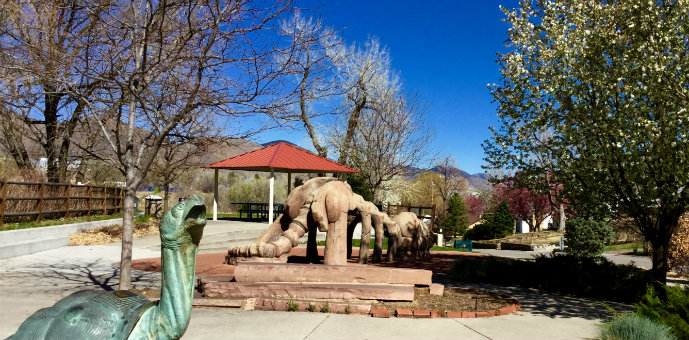 Prospector's Park is in walking distance from Fossil Court Village in Golden, Colorado