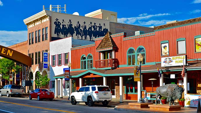 Shops and Eateries in Golden, Colorado