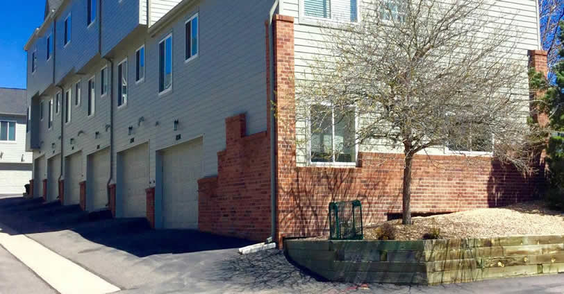 Heritage Village Townhome properties feature two-car attached garages.