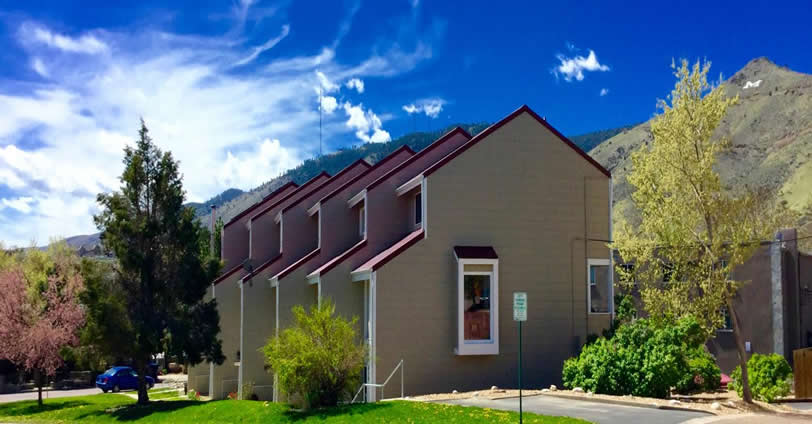 Mesa View Townhomes is located about one block North of Lions Park and a short walk to downtown Golden, Colorado.