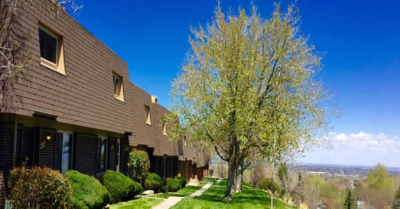 Sixth Avenue West Townhouses - One feature 86 Townhouse properties. This townhome community was built in the mid-70's in Golden, Colorado