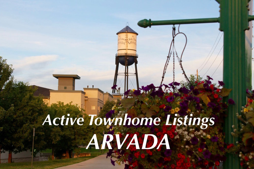 Arvada, CO Townhomes - Just Listed