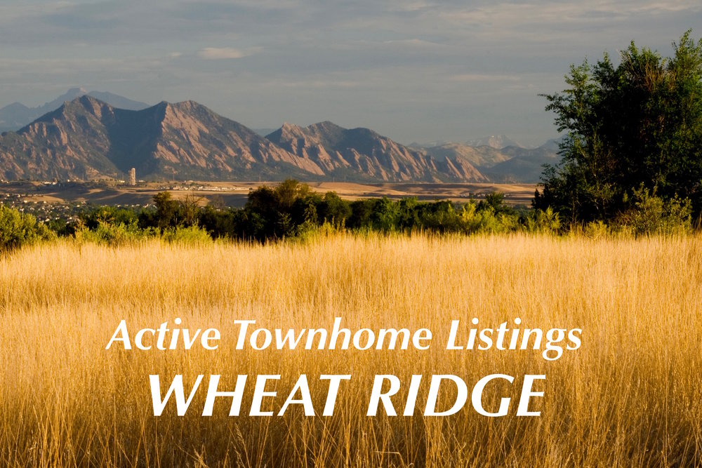 Wheat Ridge Townhomes - Just Listed
