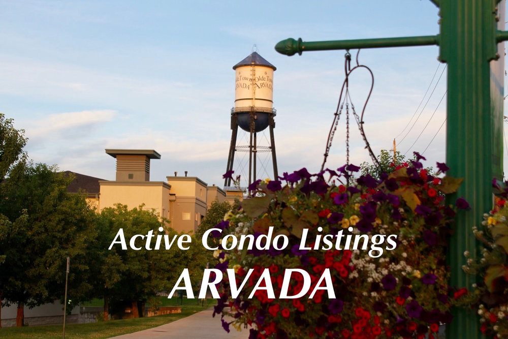 Arvada Condos for Sale - Just Listed