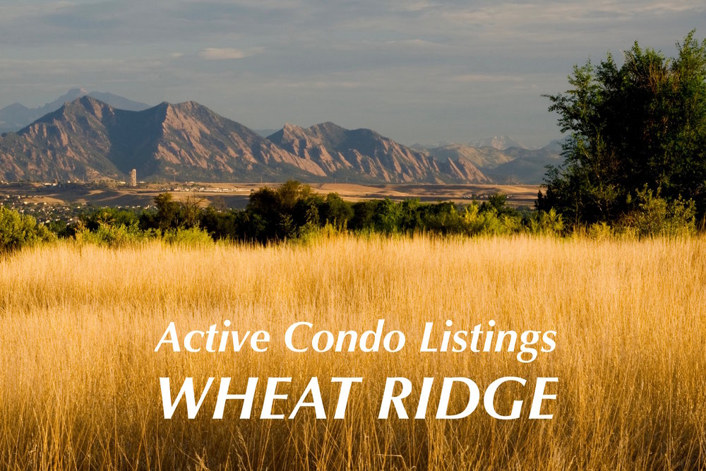 Wheat Ridge Condos for Sale - Just Listed