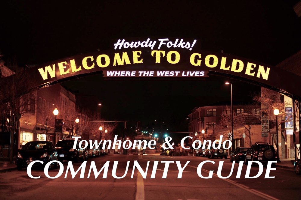 Golden, CO Townhome & Condo Community Guide