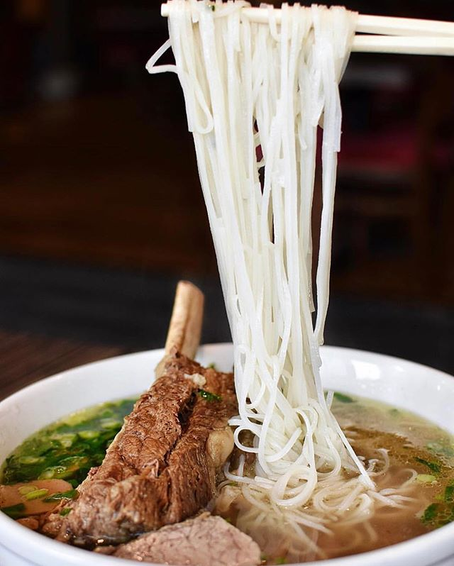 A bowl of pho is needed on a cold day like today. #tapestryrestaurant - 📸: @mindylish
