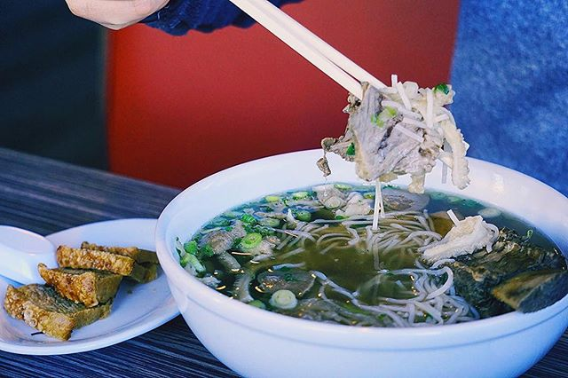 After a cold week, a bowl of pho is a need!