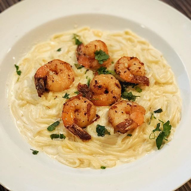 Shrimp Pasta! Tonight only!