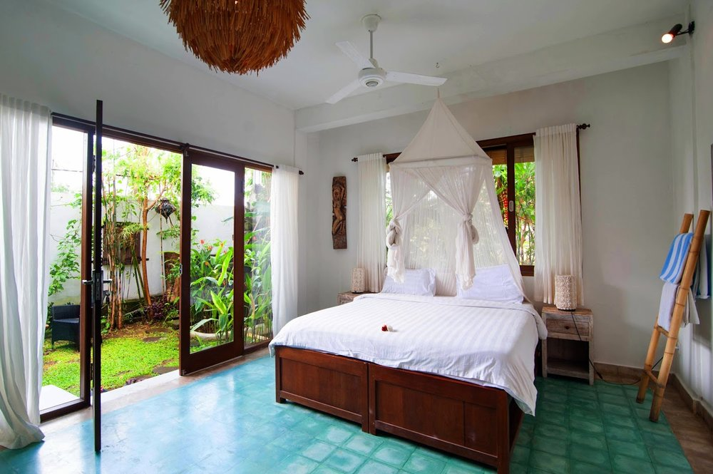 four yomie suite - $2088open-air, spacious, bali lux room.your own twin bed.