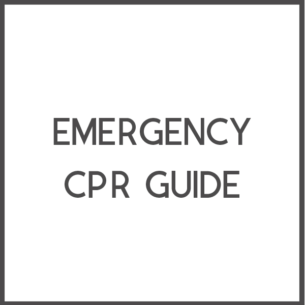 How to save a life in an emergency.