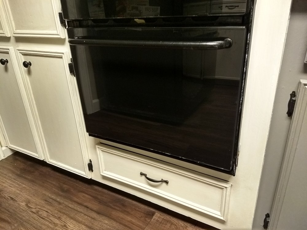 Hallelujah! Our ovens are finally fully cleaned!
