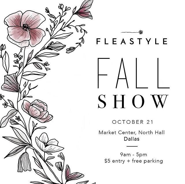 Can't wait to see you all there! 🍁 . . . . . #elizacodesigns #fleastyle #shopfleastyle #dfwcalligraphy #dallascalligrapher #makersgonnamake