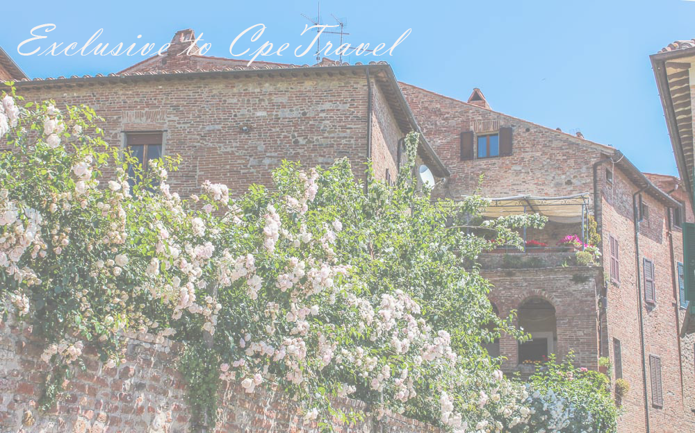 Rent our Italian Apartment - Located in the center of the medieval town of Citta della Pieve, Umbria, Italy.