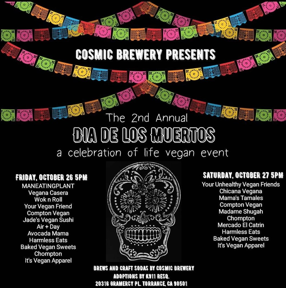 Dia De Los Muertos Chicana Vegana