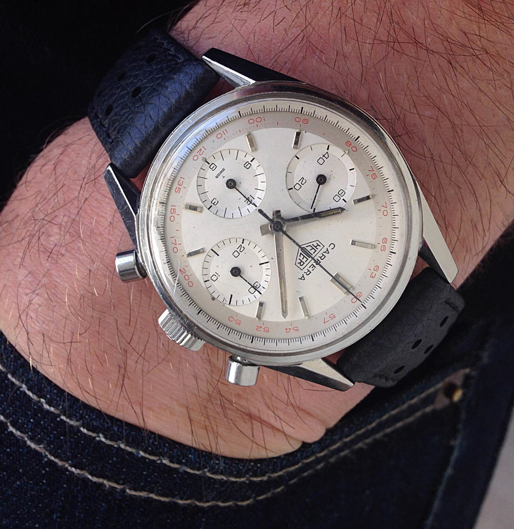 Heuer pocket