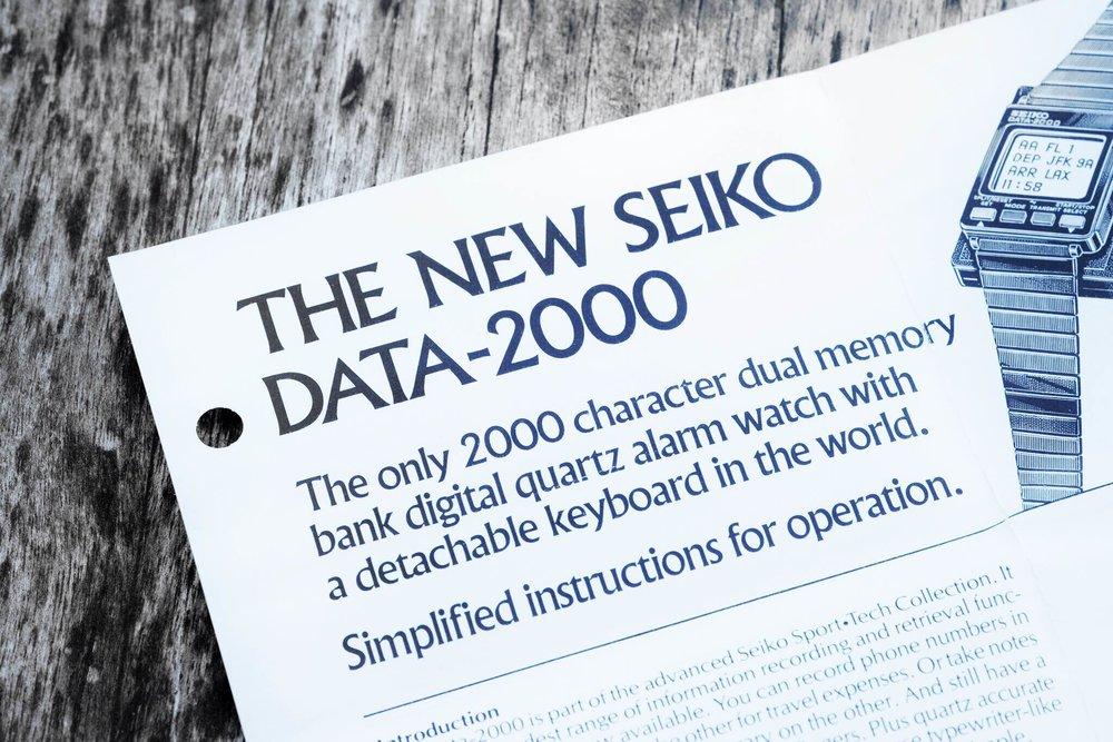 Data manual