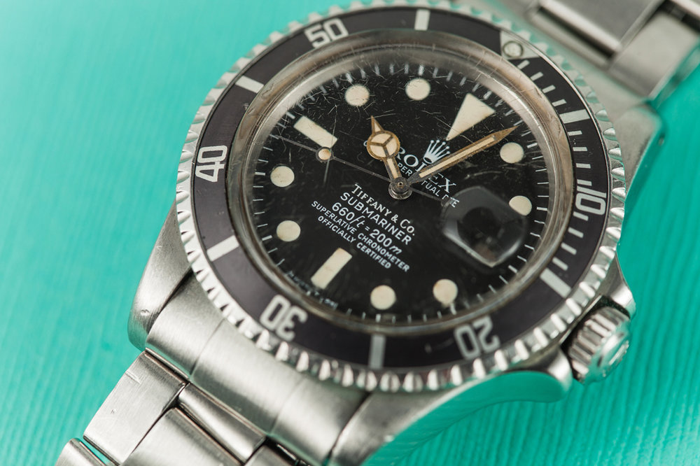 Rolex Tiffany and Co Submariner Wristwatch