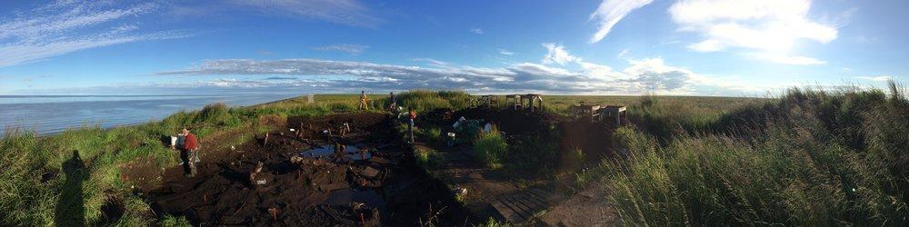 Nunalleq Village Dig Site
