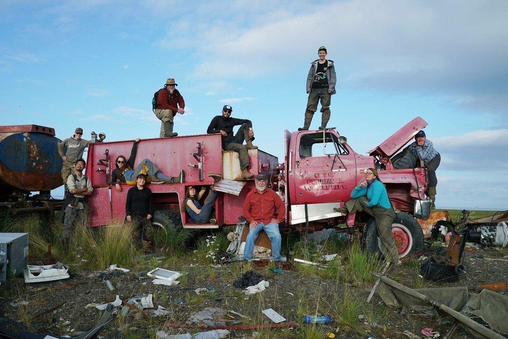 Nunalleq Archeological band photo