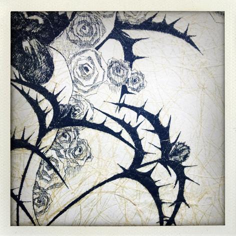 Skin Deep folio: detail of Stani Ovtcharova's print