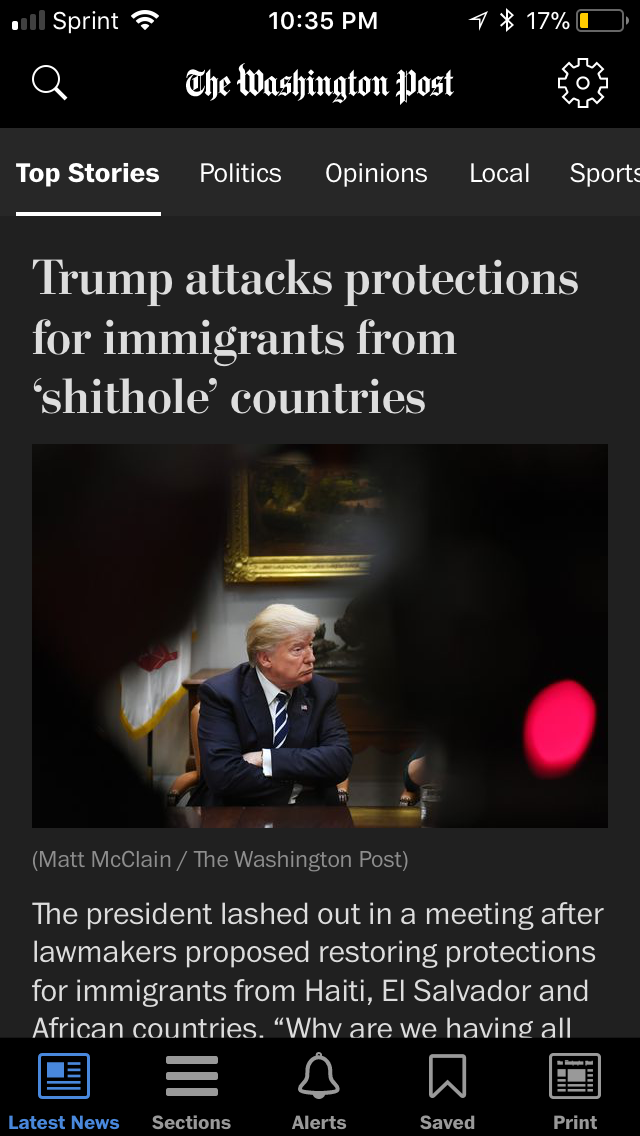 https://www.washingtonpost.com/politics/trump-attacks-protections-for-immigrants-from-shithole-countries-in-oval-office-meeting/2018/01/11/bfc0725c-f711-11e7-91af-31ac729add94_story.html