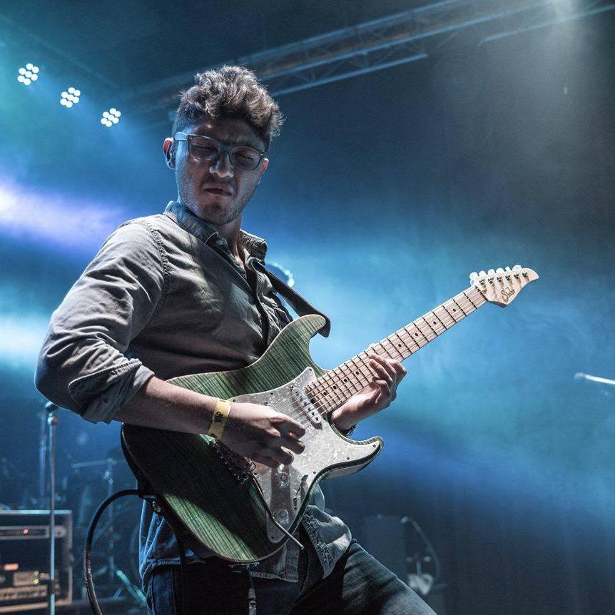 - Guitar