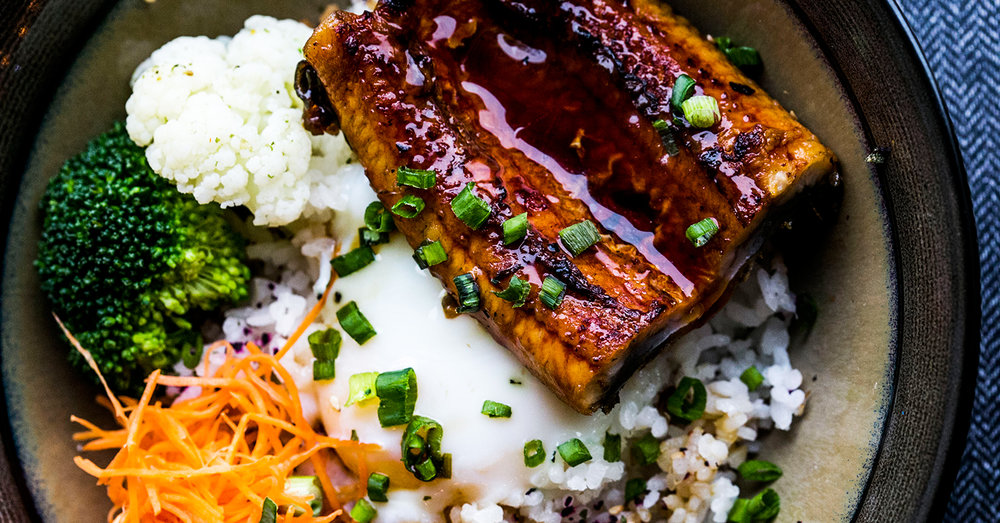 Events Coworking The Dining Hall - Grain Bowls - Unagi Don.jpg