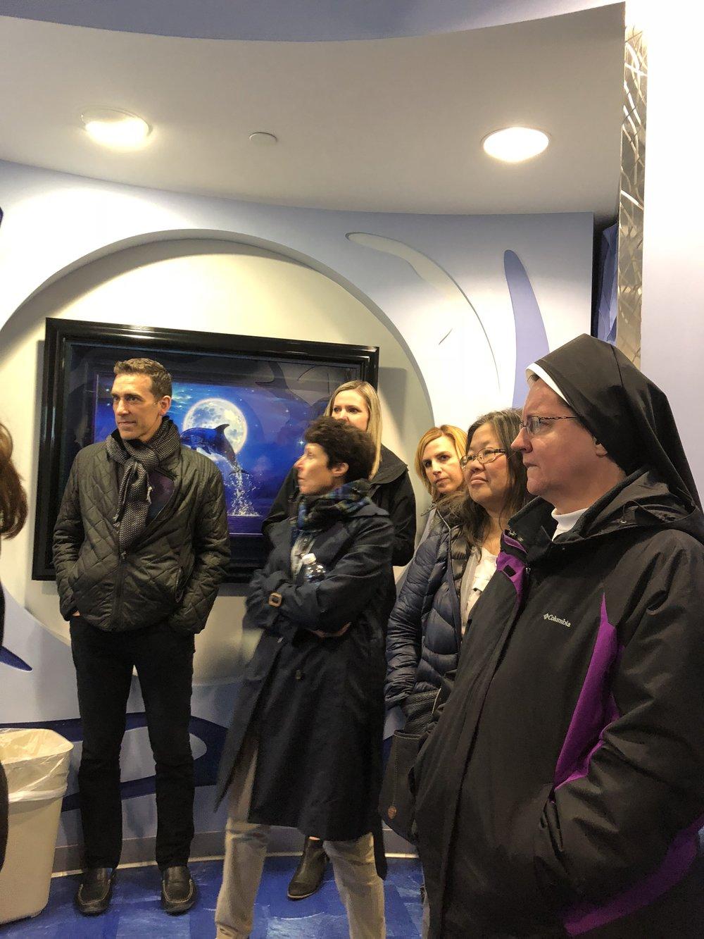 SCC Board Tour of Cardinal's Kids Cancer Center.JPG