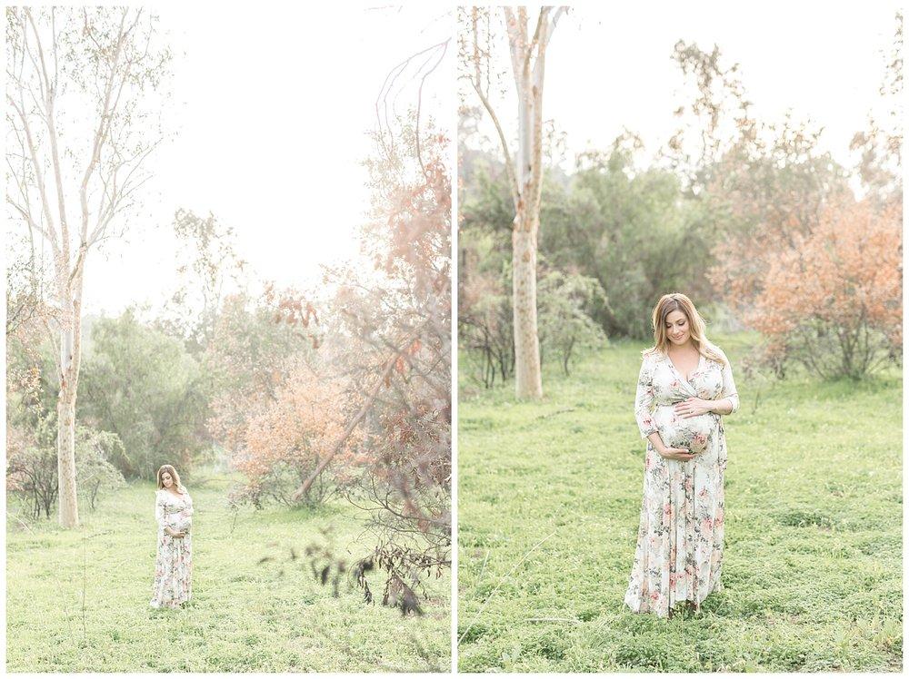 Brittany - orange county maternity session - santiago oak park-0050.jpg